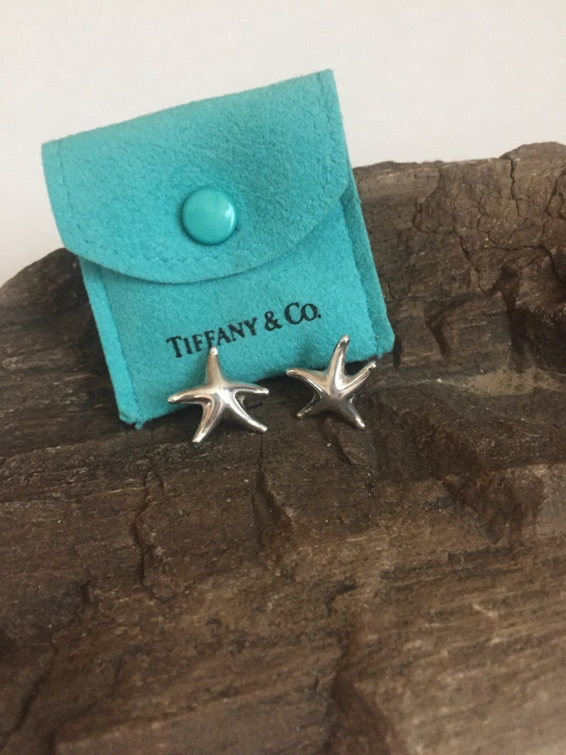 9ffb86cb7 Tiffany & Co Elsa Peretti Darling Sterling Silver Star Fish | Etsy