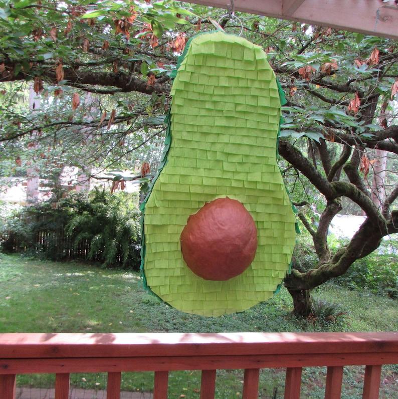 Avocado pinata, girls birthday, birthday pinata, birthday party, avocado,  partycity, birthday party, boys birthday