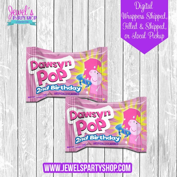 shower birthday party custom party favor designs birthday custom labels party favors ring pop labels pink ring pop pink party favor