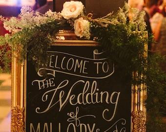Beautiful Antique Vintage Gold Chalkboard Framed Chalk Board Wedding Frame Pin Board Bulletin Board Wedding Centerpiece Blackboard Frames