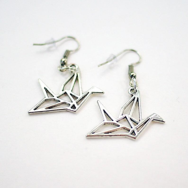 Origami Earrings | Little Bird de Papel | 794x794