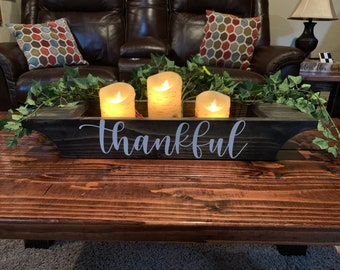 coffee table centerpiece etsy