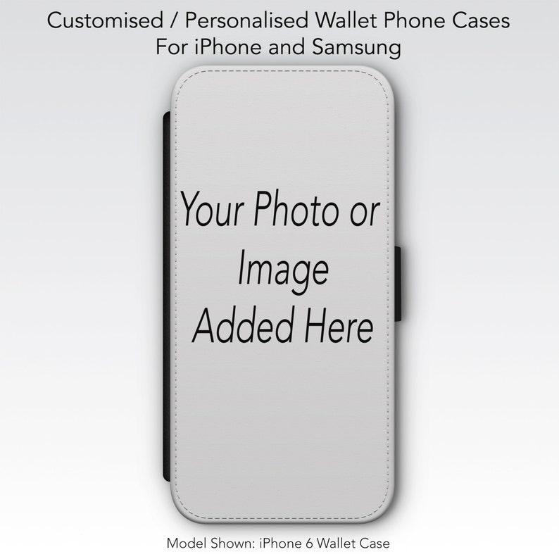 personalised wallet phone case iphone 6