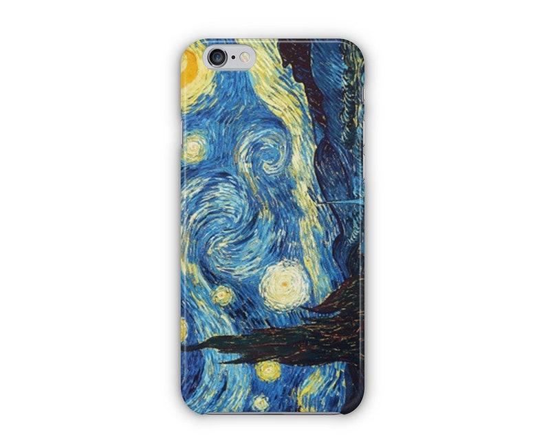meet f60f7 1bfe0 The Starry Night by Van Gogh Phone Case for iPhone X, iPhone 8, iPhone 7,  iPhone 6s, iPhone 6 Plus, iPhone 5s, iPhone SE, iPhone 5c