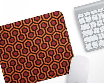 Fabric Mousepad, Mousemat, 5mm Black Rubber Base, 19 X 23 Cm   The