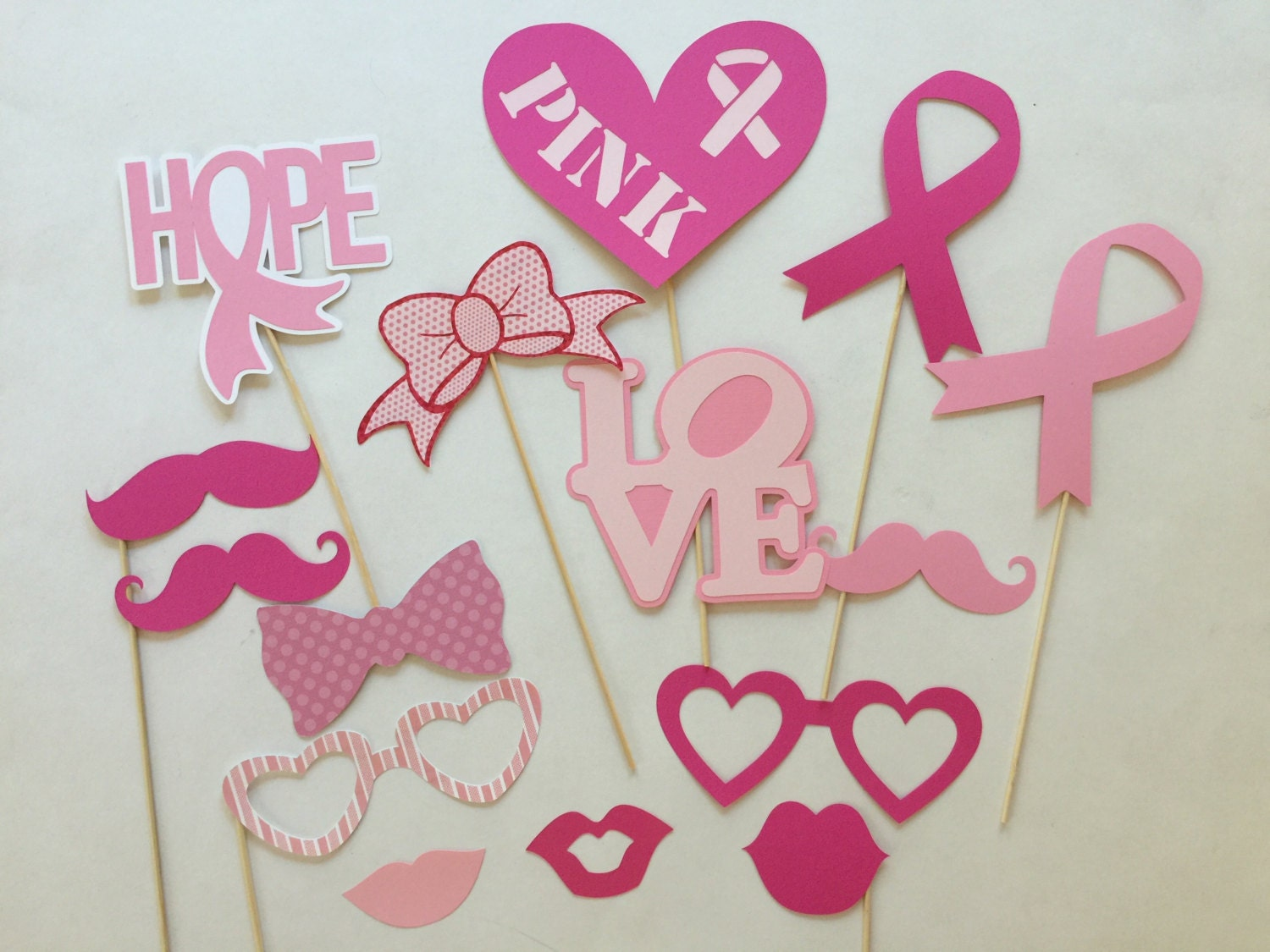Breast Cancer Awareness Photo Booth Prop Breast Cancer   Etsy