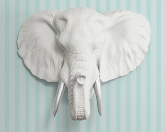 Faux Elephant Head Etsy