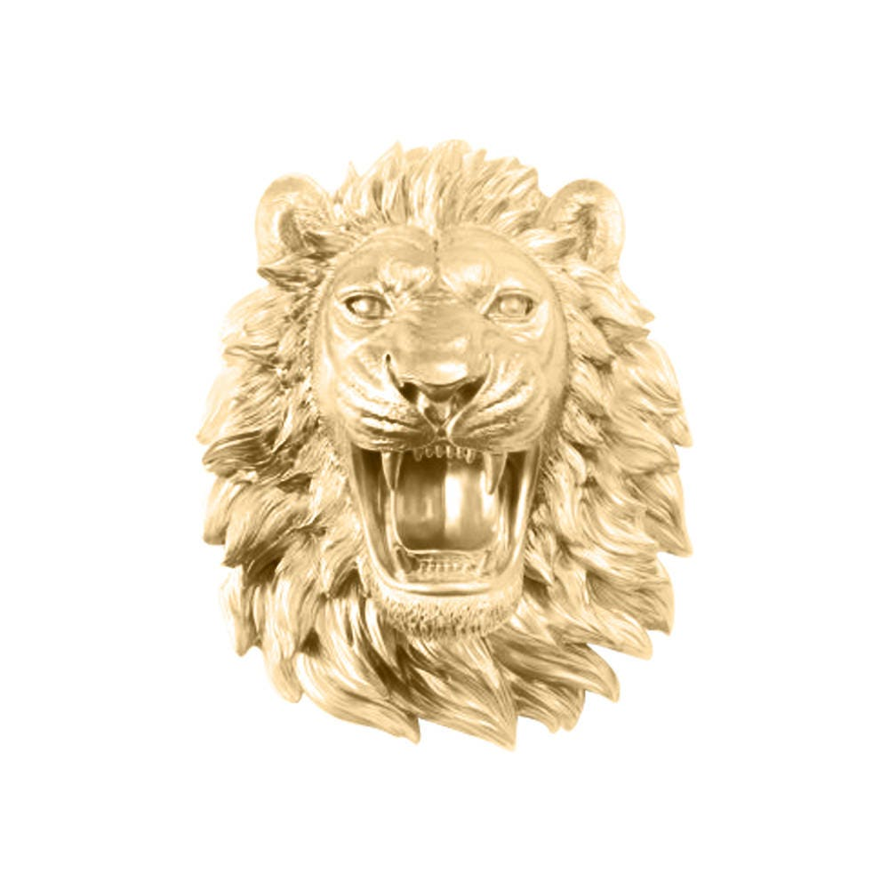 Roaring Faux Lion Head by Wall Charmers™ Faux Taxidermy Wall