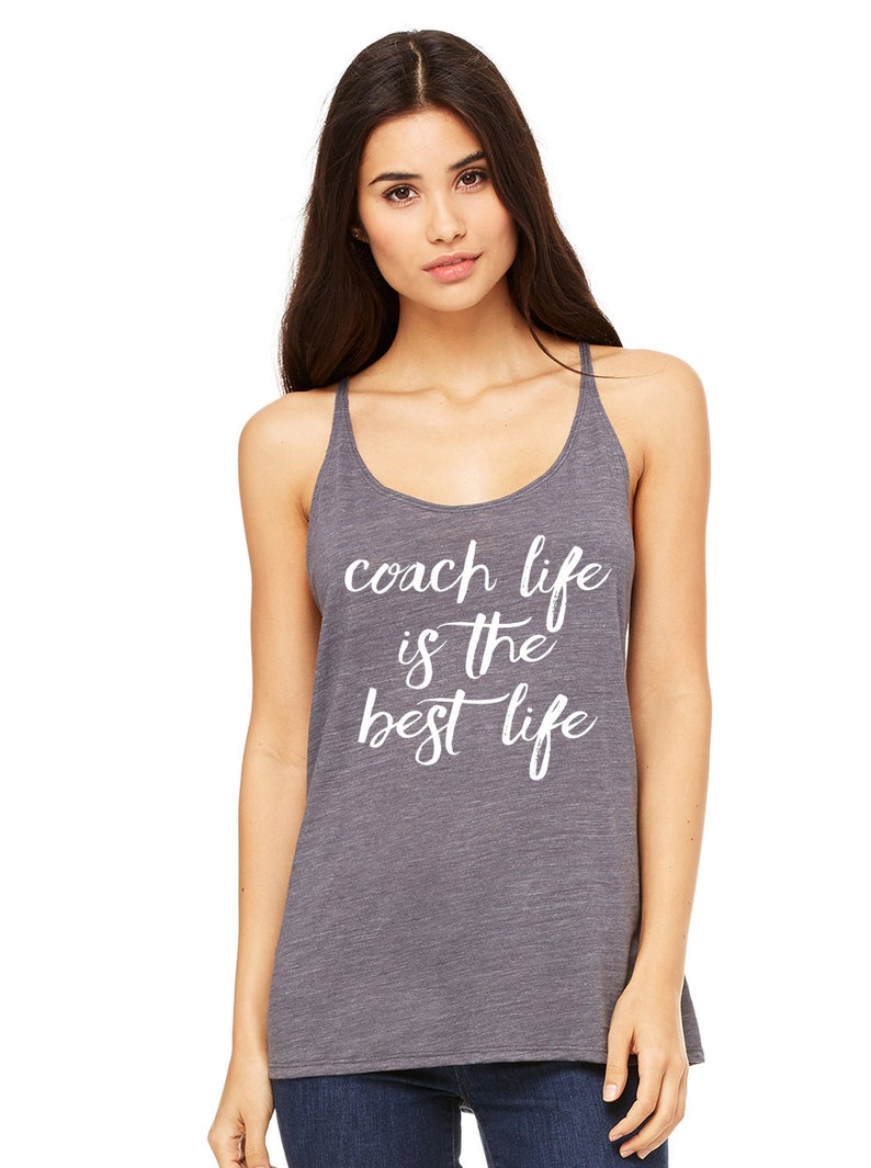 Coach Life Is The Best Life Relaxed Tank Top Girl Boss Etsy