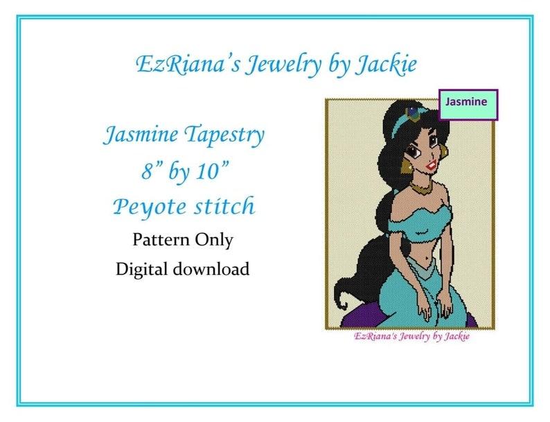 8 by 10 Jasmine Tapesty approx