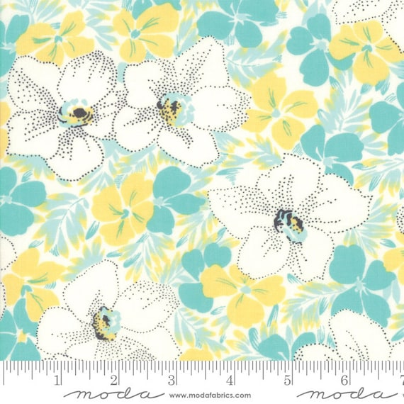 Moda Fine and Sunny by Jen Kingwell -- Fat Quarter of 18170-14