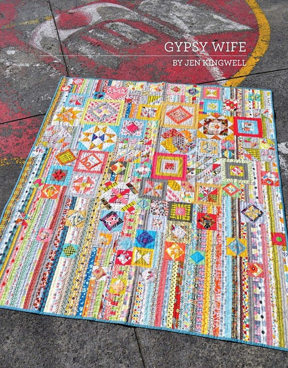 Gypsy Wife - Newest Edition Pattern Booklet by Jen Kingwell