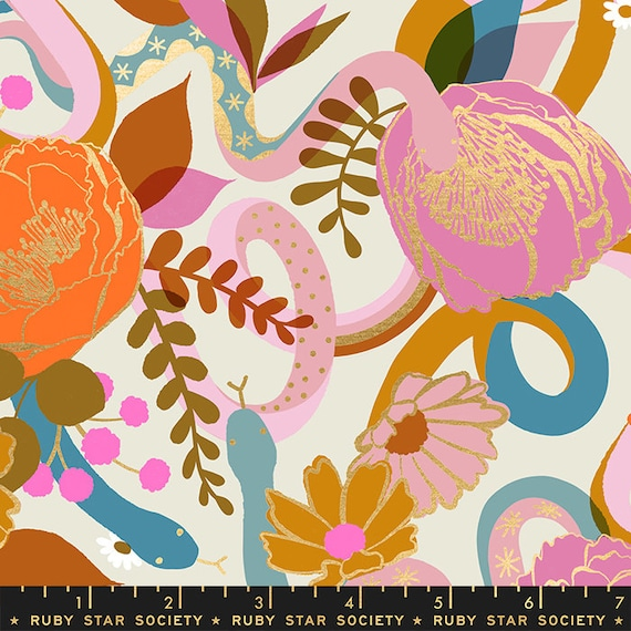 Rise Dream in Shell RS0011 11M by Melody Miller - Ruby Star Society - Fat Quarter