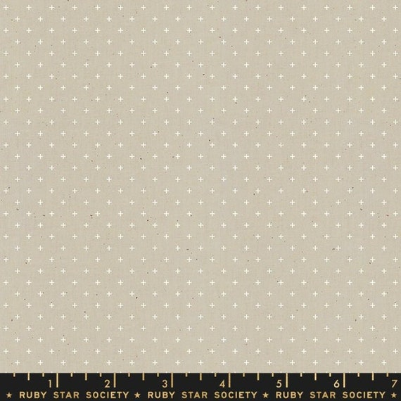 Add It Up and Alma by Alexia Marcelle Abegg -- Ruby Star Society Fabric, RS4005-14 Fat Quarter of Add It Up Khaki