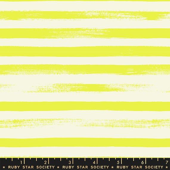 Zip in Citron by Rashida Coleman Hale -- (RS1005-40) Ruby Star Society for Moda -- Fat Quarter