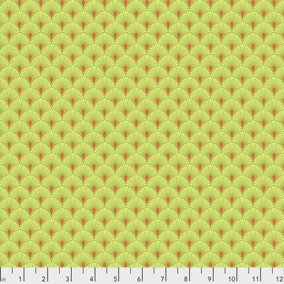 Fat Quarter Serenity in Frolic - Tula Pink's Pinkerville for Free Spirit Fabrics