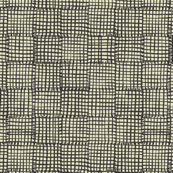 Maker Maker by Andover - Weave in Black --Cotton/Linen - Fat Quarter