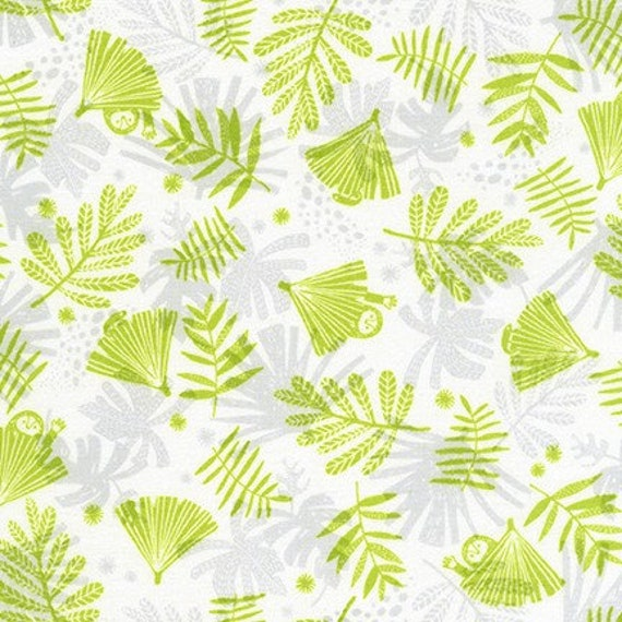 Robert Kaufman -       AIL-19558-346 LIMELIGHT by Hello!Lucky from Wild and Free - Fat Quarter