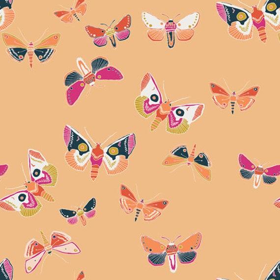 Lugu by Jessica Swift for Art Gallery Fabrics - Fat Quarter of Odyssey Aurora