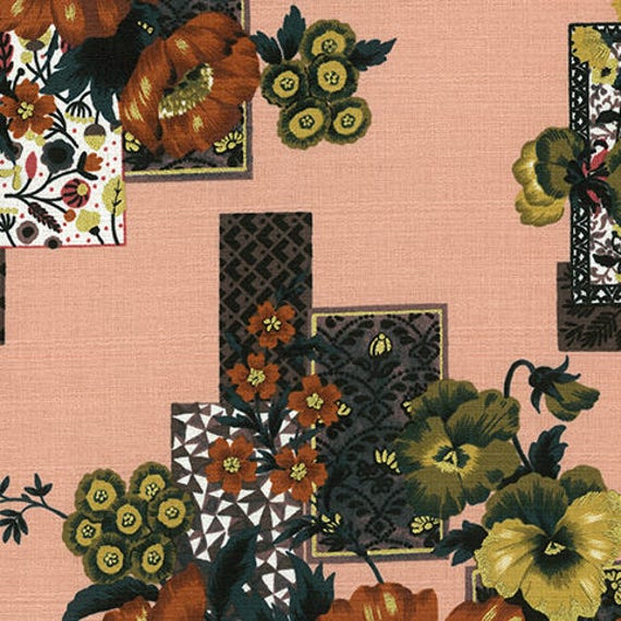 New Outback Wife by Gertrude Made for Ella Blue -- 1/2 metre Rachael in Apricot