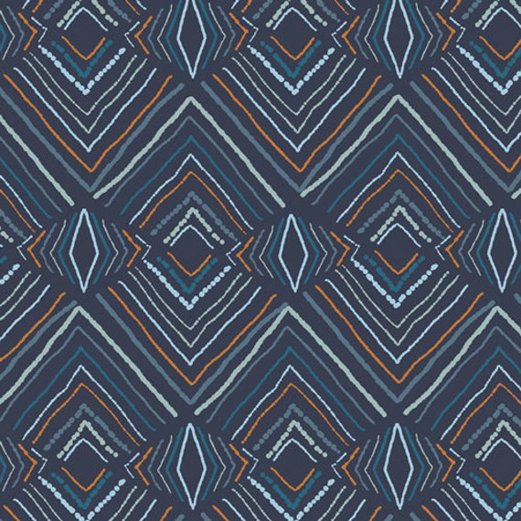 Little Forester Fusion by Art Gallery Fabrics - Wavelength