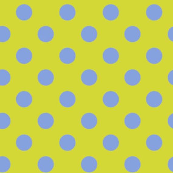 Fat Quarter Pom Poms in Myrtle  - Tula Pink's All Stars Fabric for Free Spirit Fabrics
