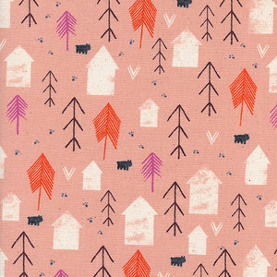 Cozy -- Neighbour in Peach by Cotton and Steel House Designer