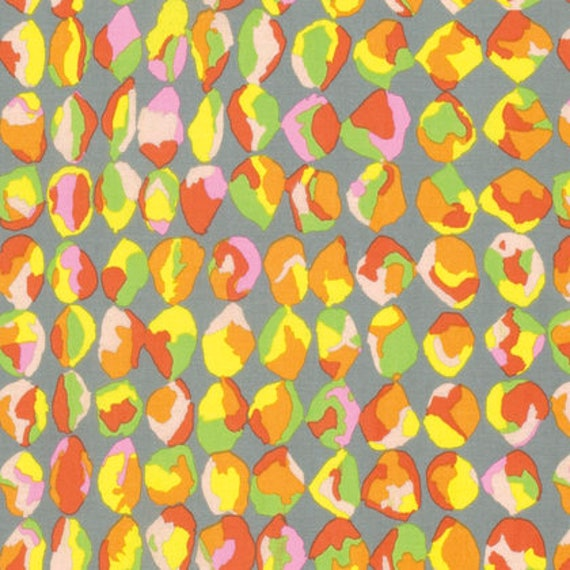 Kaffe Fassett Collective  -- Fat Quarter of Baubles in Yellow