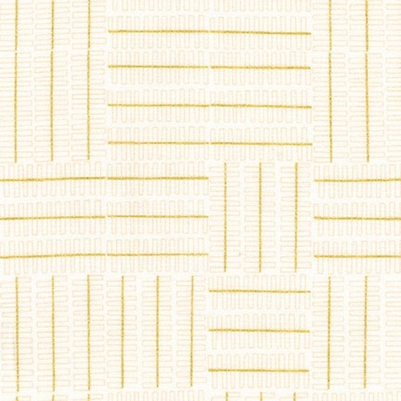 Robert Kaufman - Wayside by Karen Lewis - Grey grid pattern on white (AWIM-18692-1)
