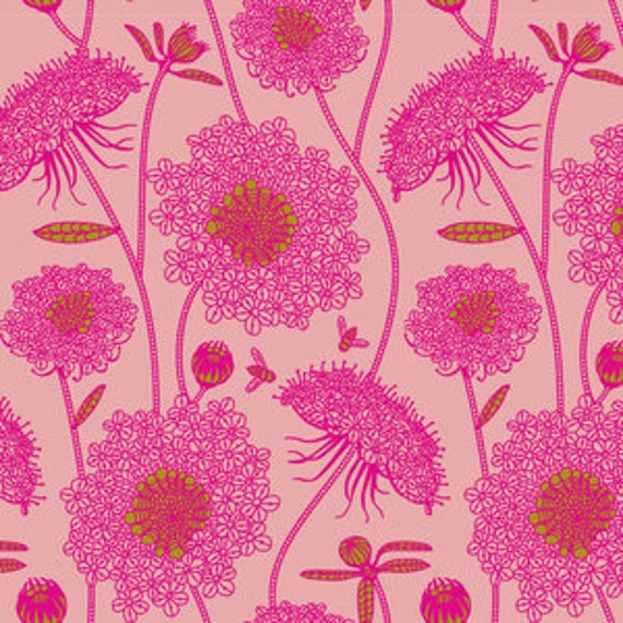 Sweet Dreams by Anna Horner for Free Spirit Fabrics - Lacey in Bubblegum