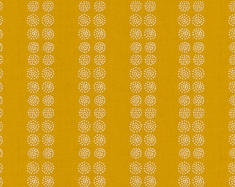 Heirloom Seeds in Goldenrod (RS4027 14) by Alexia Marcelle Abegg for Ruby Star Society -- Fat Quarter