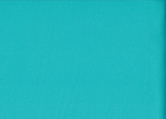 Japanese cotton fat quarter by Kei - Voile in solid aqua