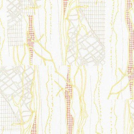 In stock! Friedlander by Carolyn Friedlander - Fat Quarter- The Cattle Print in Wasabi