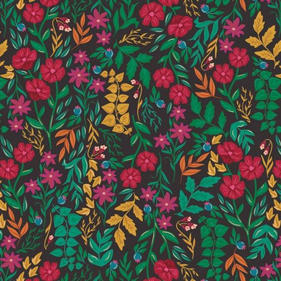 The Flower Society for Art Gallery Fabrics - Luminous Floriculture - Fat Quarter
