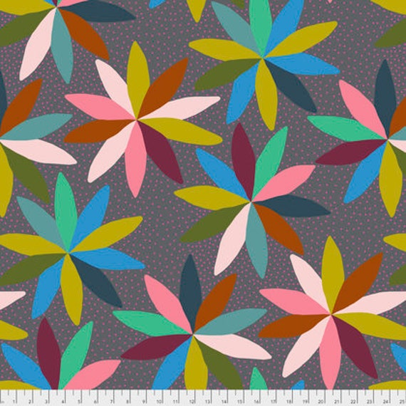 Passion Flower by Anna Horner for Free Spirit Fabrics - Cartwheels in Jump