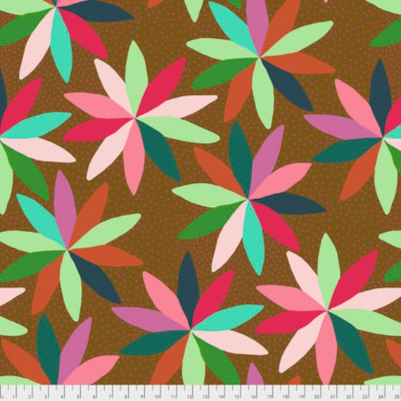 Passion Flower by Anna Horner for Free Spirit Fabrics - Cartwheels in Flip