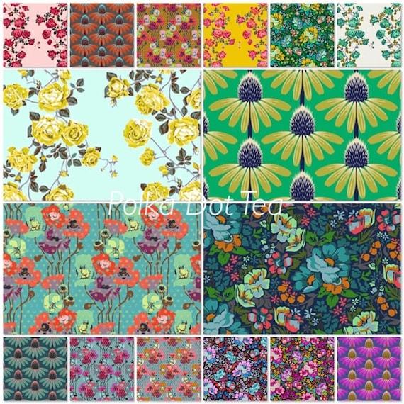 Floral Retrospective Fat Quarter Bundle by Anna Maria Horner for Free Spirit Fabrics