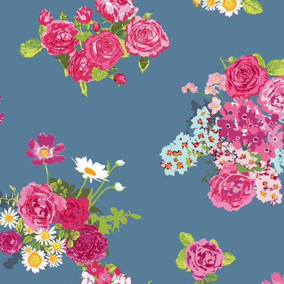 Floralish by Katarina Roccella for Art Gallery Fabrics - Cascading Blossoms - Fat Quarter