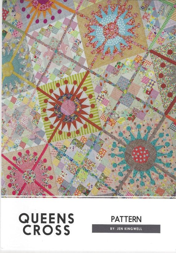 Queen's Cross - Pattern by Jen Kingwell
