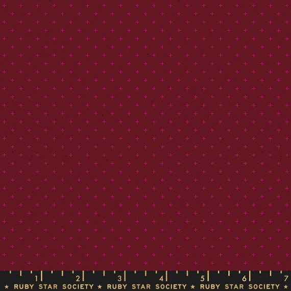 Add It Up and Alma by Alexia Marcelle Abegg -- Ruby Star Society Fabric, RS4005-35 Fat Quarter of Add It Up Wine Time