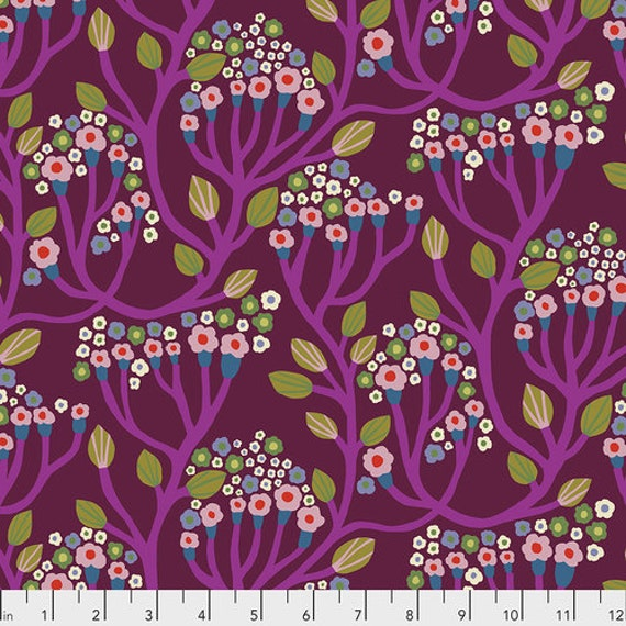 Endless Summer by Monika Forsberg for Anna Maria Horner's Conservatory Chapter 3 - Fat Quarter of Bubbling in Magenta