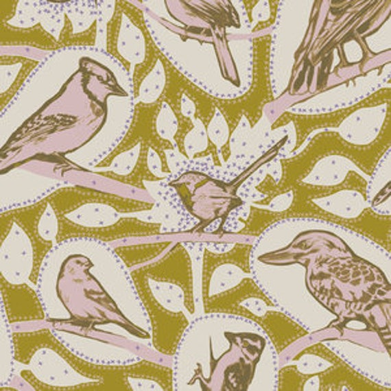 Sweet Dreams by Anna Horner for Free Spirit Fabrics - Cacophony in Saffron