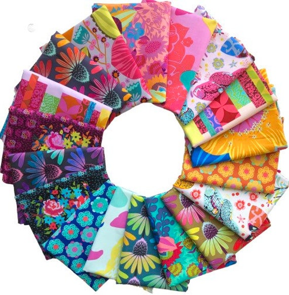 Hindsight by Anna Maria Horner for Free Spirit Fabrics- Half Metre Bundle of all 18 prints