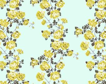 Love Always by Anna Maria Horner Fabrics for Free Spirit Fabrics - Fat quarter of Social Climber in Ice