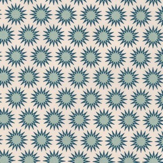 Paintbox Basics by Elizabeth Hartman for Robert Kaufman Fabrics - Anemone in Glacier - Fat Quarter