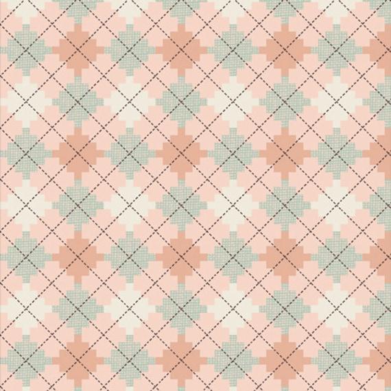 Bookish by Sharon Holland for Art Gallery Fabrics - - Fat Quarter Argyle Jumper