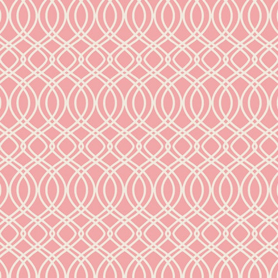 Bloomsbury by Bari J for Art Gallery Fabrics -  Fat Quarter of Knotted Trellis Parfait