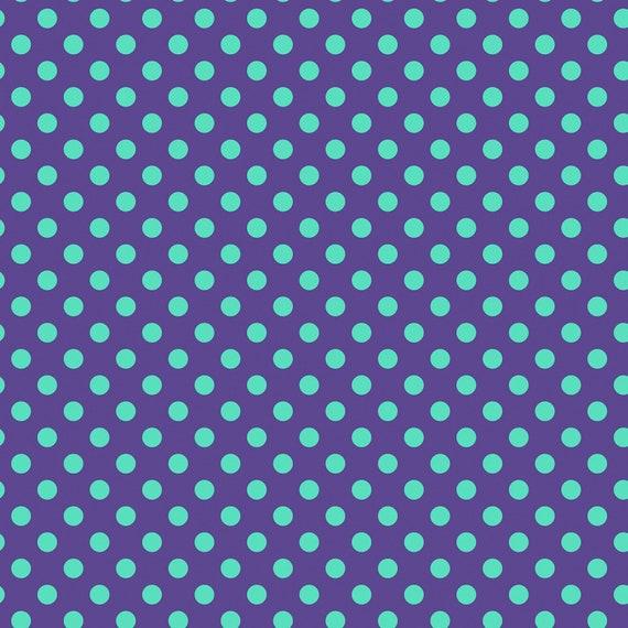 Fat Quarter Pom Poms in Iris  - Tula Pink's All Stars Fabric for Free Spirit Fabrics