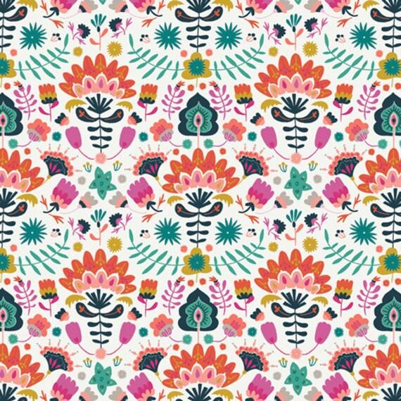 Lugu by Jessica Swift for Art Gallery Fabrics - Fat Quarter of Efflorescent Vivid