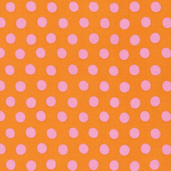 Kaffe Fassett -- Fat Quarter of Spots in Sherbet